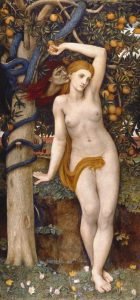 John Roddam Spencer Stanhope - Eve Tempted 1877